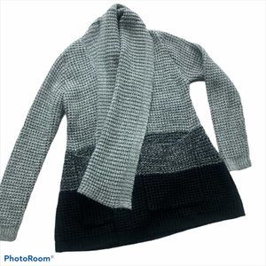 Saks Fifth Ave 5/48  Chunky Cardigan Sweater LRG